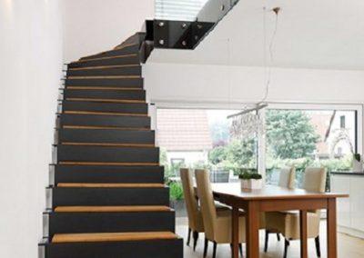 Faltwerk Treppen